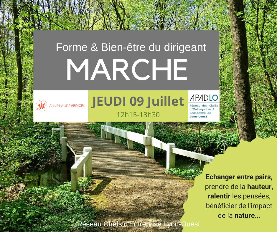 Marche By APADLO avec Anne-Laure VERICEL Juillet 2020