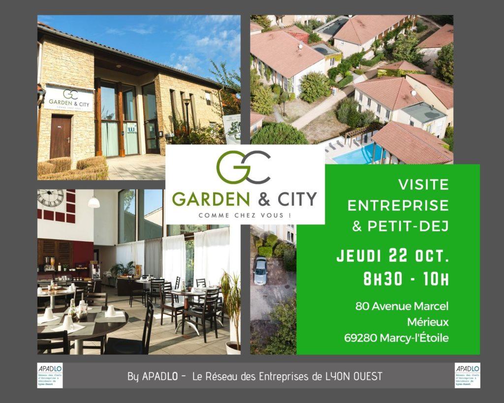 VISITE GARDEN CITY & PETIT DEJEUNER jeudi 22 octobre 2020