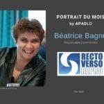 découvrez le portait de Béatrice Bagne by Apadlo