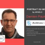 Damien PAUME_ Archives C6_Portrait du Mois by Apadlo Septembre 2020