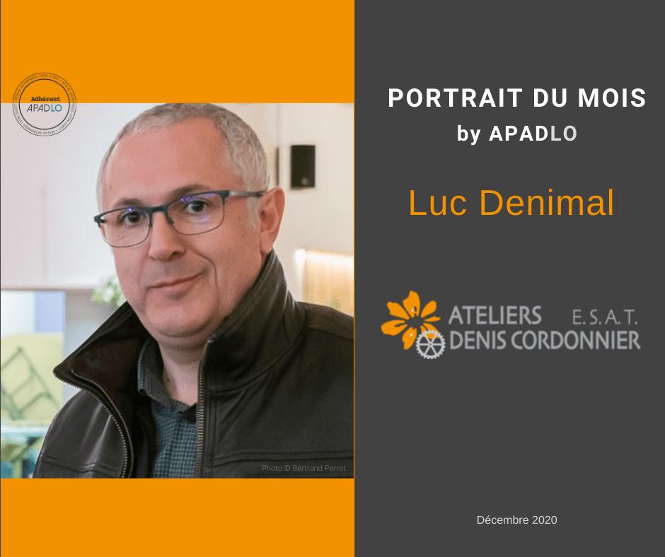 Portrait Luc DENIMAL by APADLO