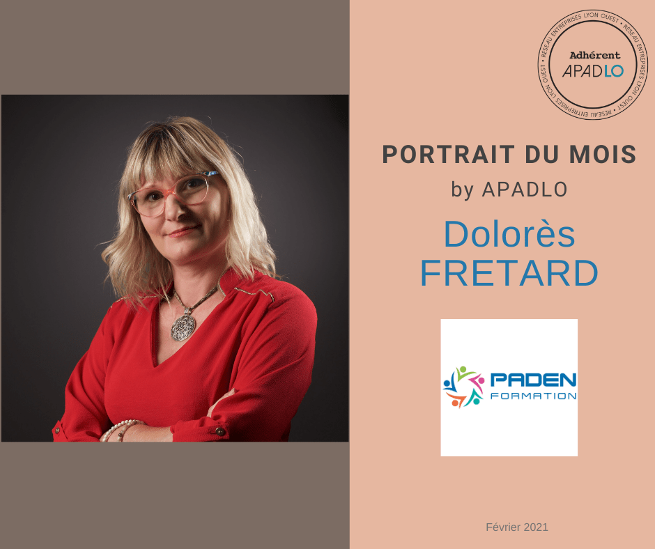 Portrait du Mois APADLO Dolorès FRETARD