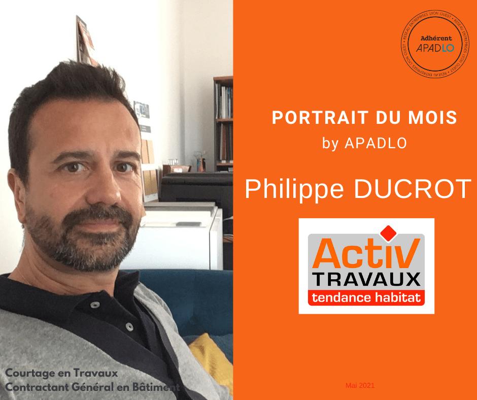 PORTRAIT Philippe DUCROT by APADLO