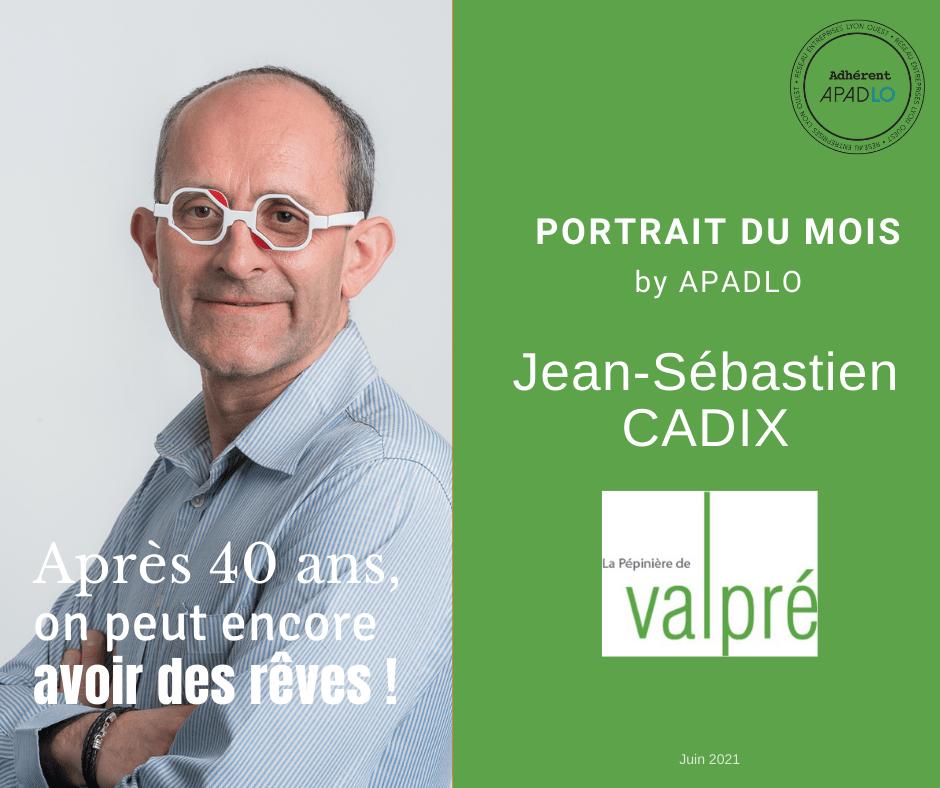 Portrait Jean-Sébastien CADIX by APADLO